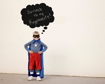 Thought Bubble Chalkboard Wall Decal