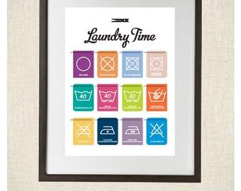 Laundry Secrets Print  8x10