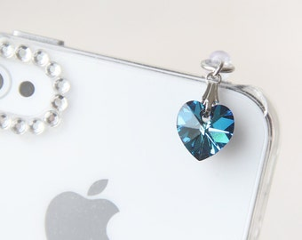 Choose your color. FREE Shipping. Swarovski Crystal Bermuda Blue Heart iPhone Charm. iPad Accessories. iPhone Accessories. iPhone 6s charm