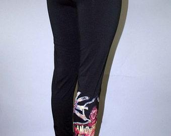 Freddy Krueger Horror Movie Leggings Nightmare On Elm Street Pants ON SALE