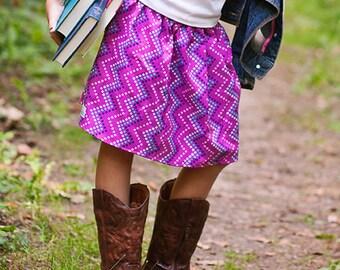 girls tween toddler Boutique Girls Skirt. . .  Violets sweet skirt 2 Toddler - 9 Youth By K Bella Bambino