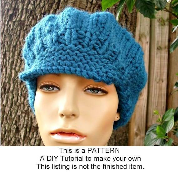 Ponytail Hat Pattern Pattern Knit Hat Pattern