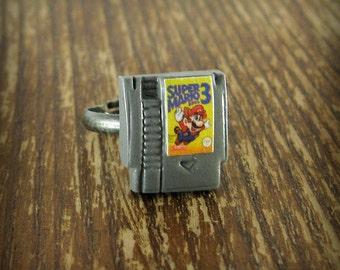 Tiny NES Nintendo Game Ring