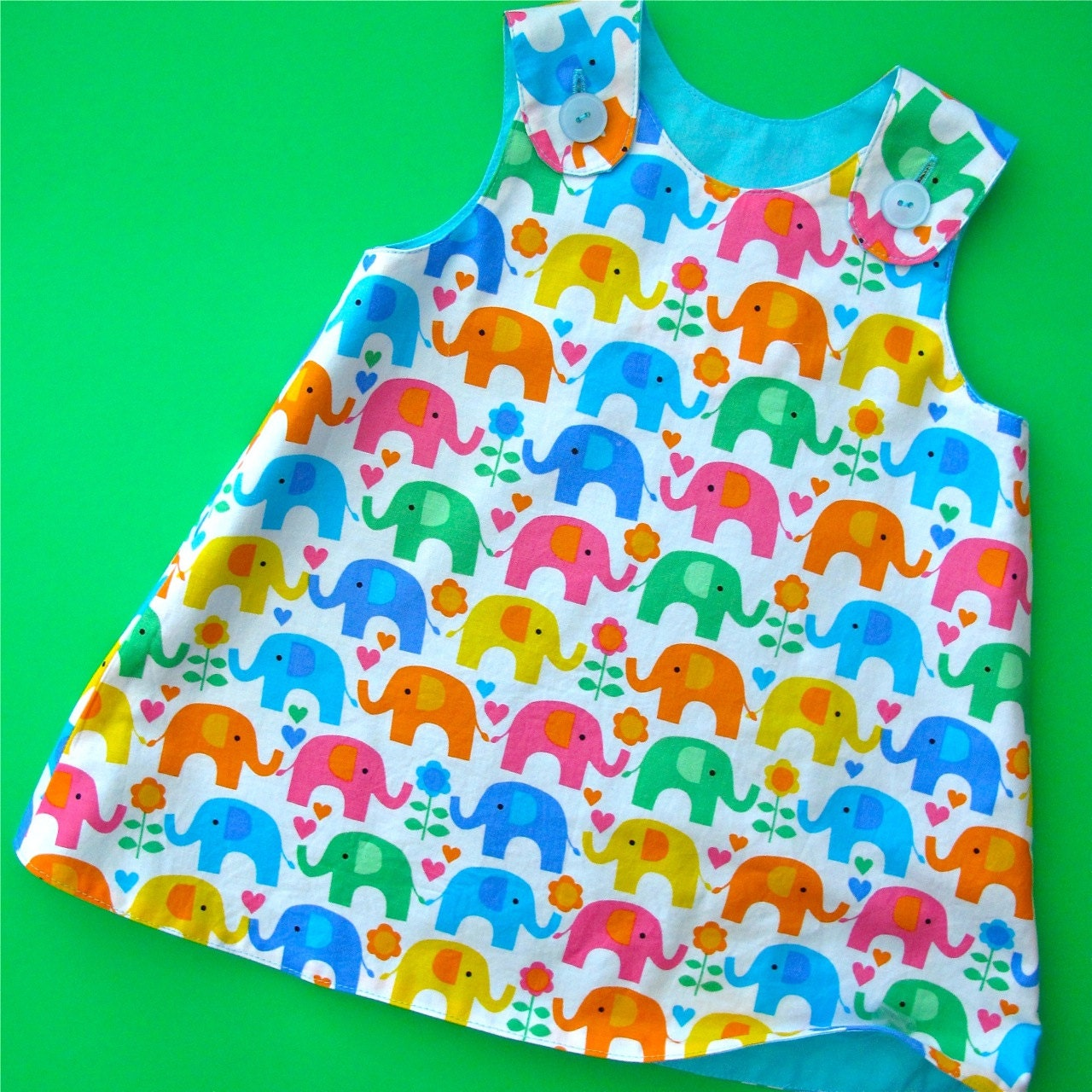 Designer Dress Patterns For Children Reversible Baby Dress Pattern