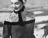 Retro 50s Ski Pixie Outfit - Vintage Knitting Pattern - PDF eBook