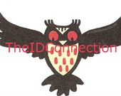 Retro Hoot Owls, Orange & Black, Hooters, Cake Toppers, Garland, Gift Cards, Place Settings, Halloween Owls, Trick Or Treat