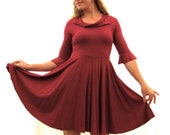 Bluebell ~ Circle Dress ~ Bamboo & Organic Cotton ~ Made to Order