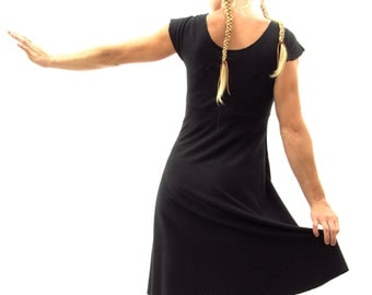 Pippy ~ Simple Dress ~ Hemp & Organic Cotton ~ Made to Order