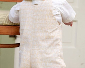 Hunter Romper Instant Download Sewing Pattern, ages 3-5