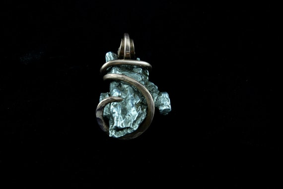 Copper Wrapped Meteorite