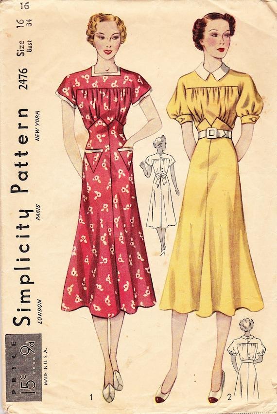 1930s Fashion Women