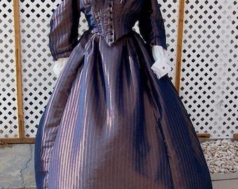 Civil War era jacket and skirt costume