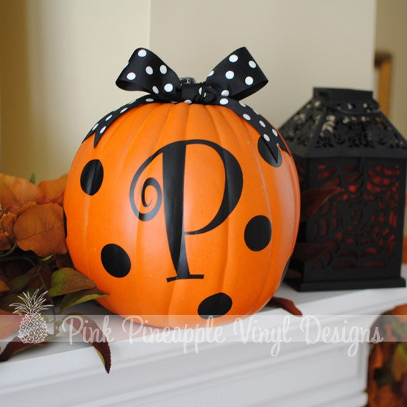 Items Similar To Diy Personalized Pumpkin Decorating