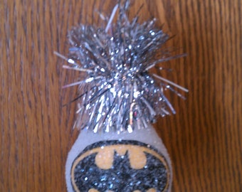 Batman handmde light bulb ornament