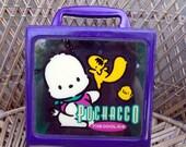Rare VTG Sanrio Pochacco Carrying Case
