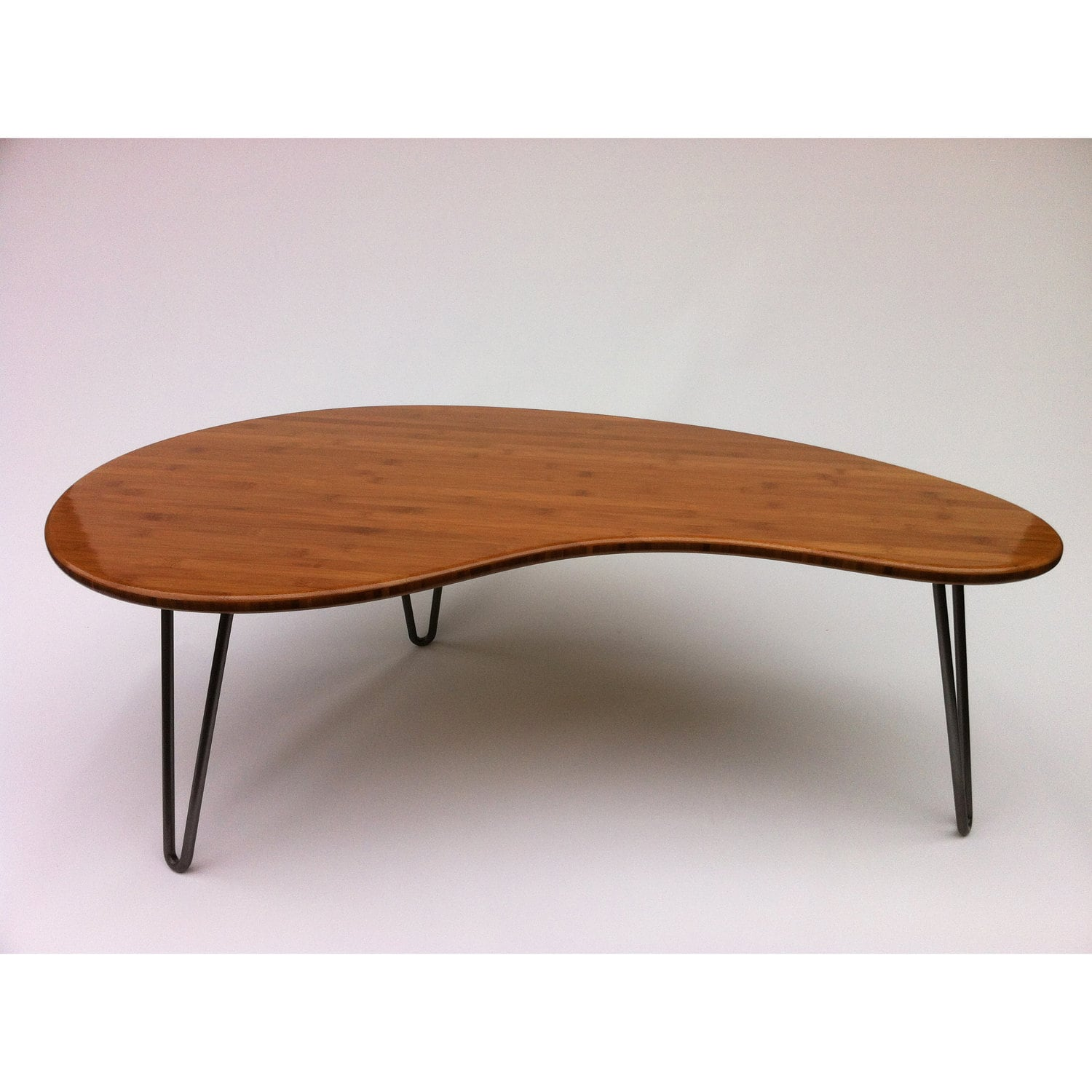 Mid century modern coffee cocktail table by for Modern coffee table