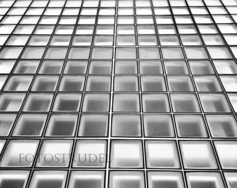 Black and White Photograph. The Glass Ceiling. 8x12