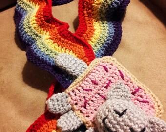 NYAN CAT SCARF PATTERN CROCHET ? Free Crochet Patterns