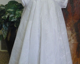 Embroidered Baptism, Christening gown