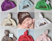 Little Peanut Baby Knot Hat - YOU CHOOSE ONE