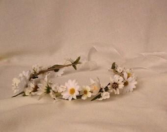 Music Festival hair wreath accessories Hippie Daisy flower Crown EDC coachella rave electric forest Headwreath bridal boho halo wedding