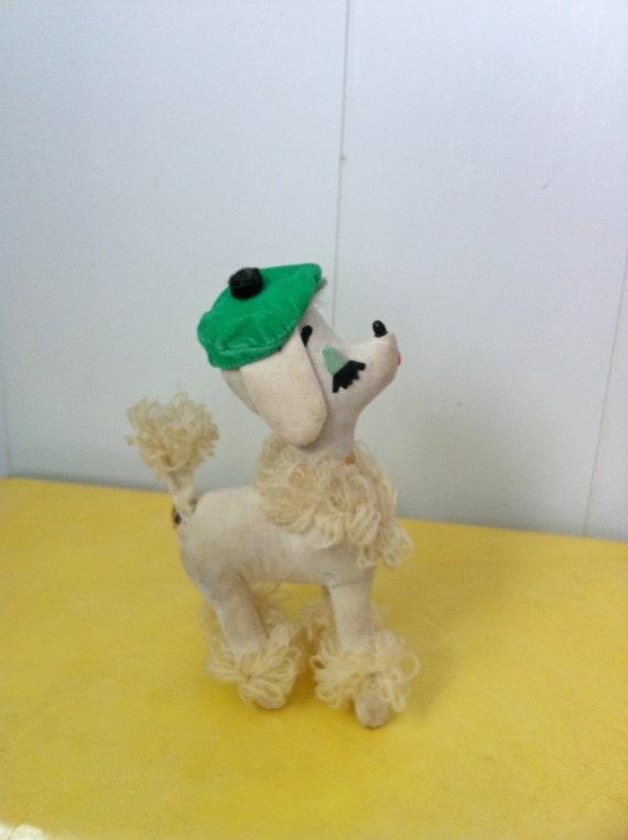 Vintage 1960s Dakin Dream Pets Poodle