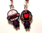 Daftpunk Charms - Set of Two