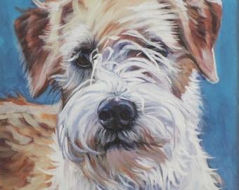 Krom Kromfohrlander art print CANVAS print of LA Shepard painting 12x12