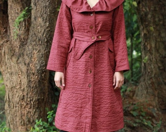 S024--Warm heart ( Cotton coat)
