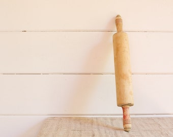Vintage Rustic Wooden Rolling Pin