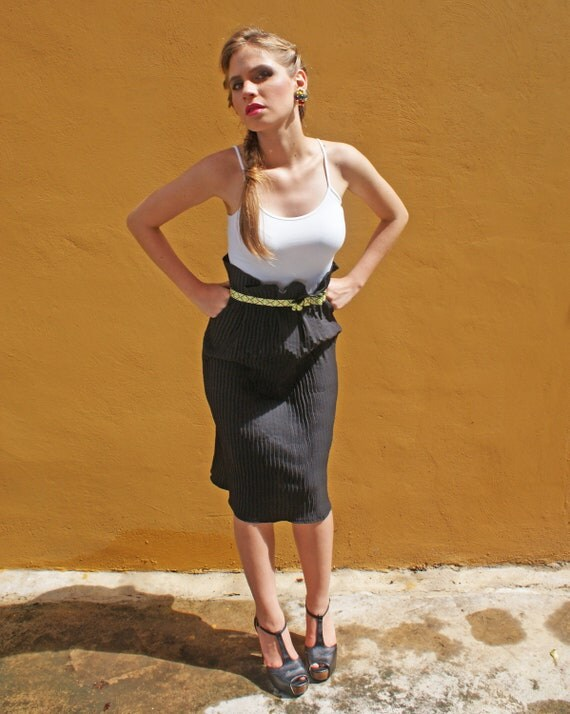 black pencil skirt tea length sale