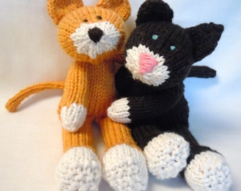 ALSAP Knit Cat PDF - (As Little Sewing As Possible)