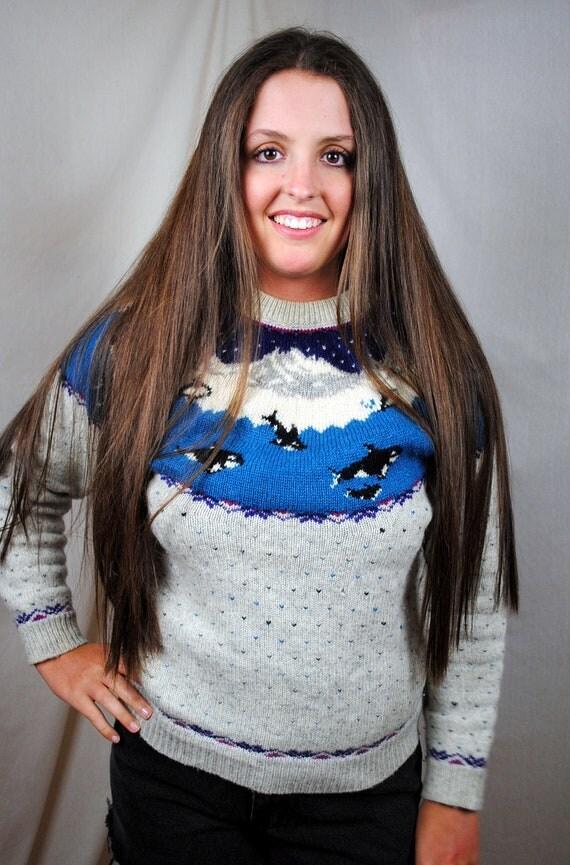 Wool Whale Sweater 106