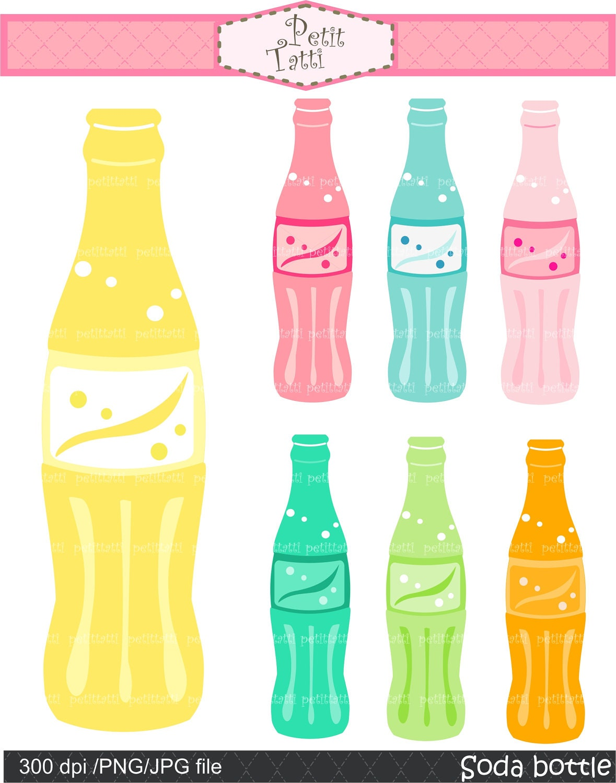 Reusable Water Bottle Clip Art Party clip art , digital clip