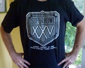 Super Bowl XXV 1991 - black size extra large
