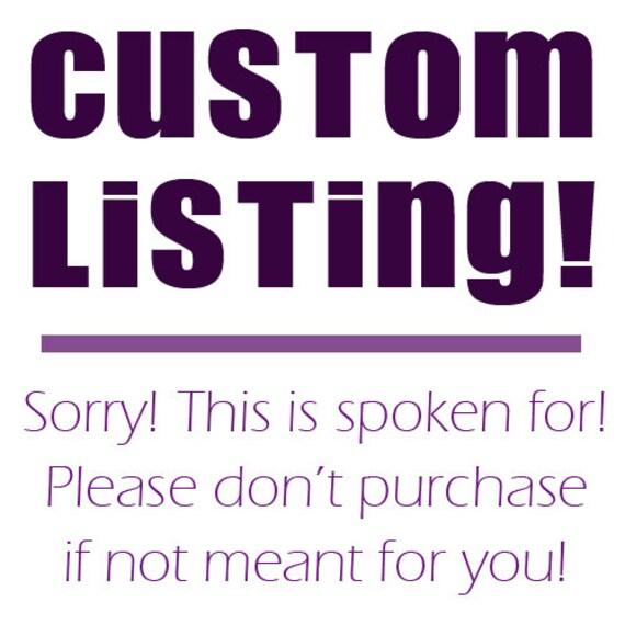 Custom Listing for littlerory