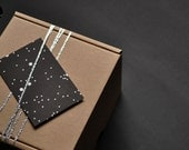 eco-friendly STARRY SKY gift tags by bastisRIKE