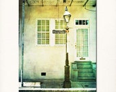 "New Orleans Photography, French Quarter Street Sign Picture, ""Hello Dauphine"" Photograph. Mardi Gras Louisiana."