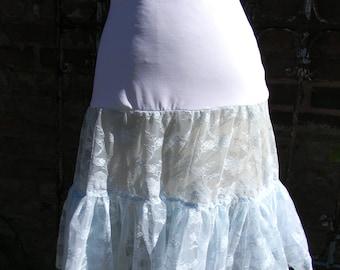Something blue short crinoline wedding petticoat