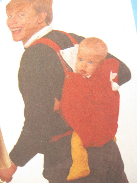 Simplicity 6428 Baby Carrier Pattern with Drool Pad