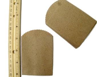Kraft Paper Mini Bags set of 25 Merchandise Bags