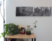 Liberty Avenue Downtown, Pittsburgh Collage Gallery Wrap Canvas Print