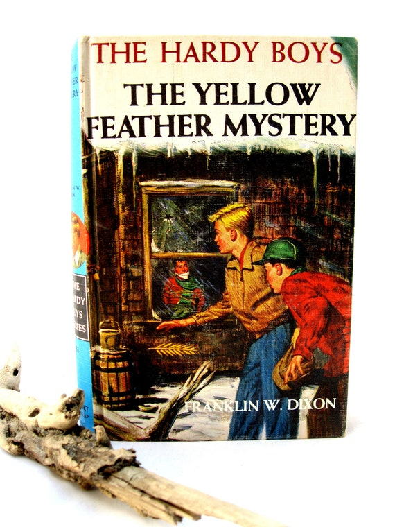 Vintage 50's Hardy Boys Book-Childrens-The Yellow Feather Mystery from Tessiemay