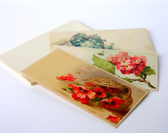 Vintage Floral Note Cards Catharina Klein Stationery Writing Paper Original Box Germany Gorgeous Graphics