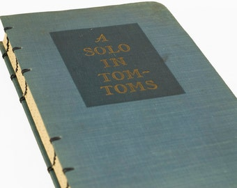 1946 SOLO in TOM-TOMS Vintage Lined Notebook Journal