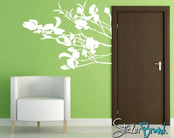 Vinyl Wall Decal Sticker Dogwood Blossoms AC151B