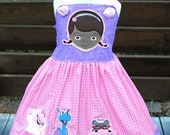 Doc McStuffins Dress - Disney Jr Doc McStuffins Dress - Doc McStuffins Birthday - Disney Vacation Dress - Doctor Dress - McStuffins Dress