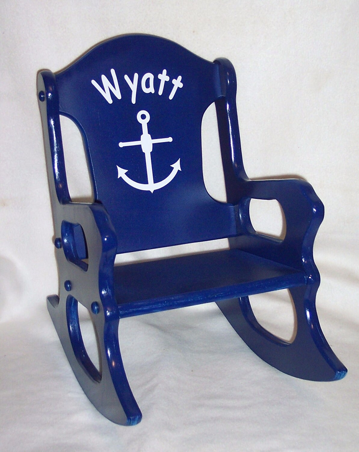 Rocking Chair Nautical Theme