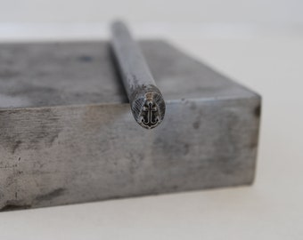 Anchor Metal Stamp- 5 mm tall - Metal Design Stamp for Personalized Jewelry-Metal Stamping Tool