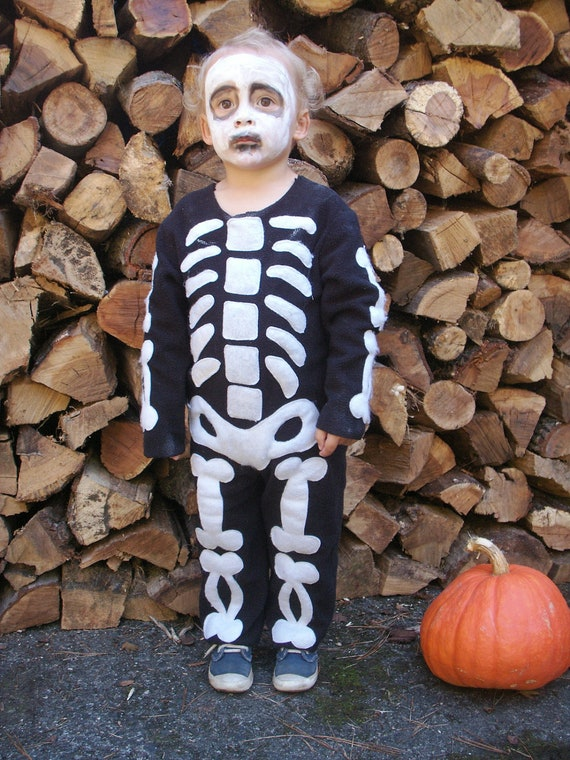 like this item - Skeleton Halloween Costume For Kids